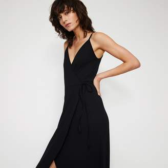 Warehouse CAMI WRAP MAXI DRESS