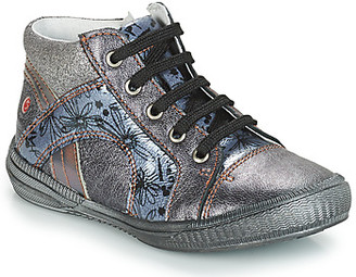 GBB ROSETTA girls's Shoes (High-top Trainers) in Grey