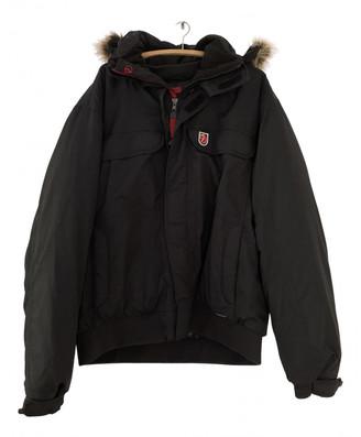 Fjallraven Black Synthetic Jackets