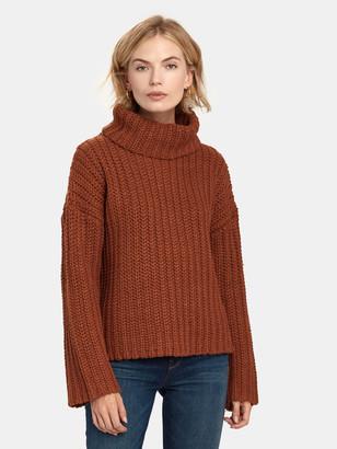 J.o.a. Oversized Turtleneck Sweater