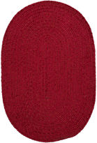 Colonial Mills South Point Reversible Braided Oval Rug