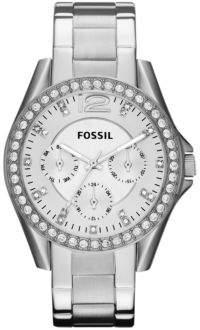 Fossil Silver Glitz Boyfriend Watch