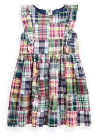 Polo Ralph Lauren Toddler Girls Patchwork Madras Dress