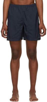 Noah NYC Navy Nylon Swim Shorts