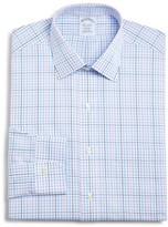 Brooks Brothers Non-Iron Check Classic Fit Dress Shirt