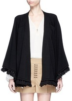 Chloé Tassel cotton-wool cardigan