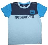 Quiksilver Little Boys Crew-Neck Short Sleeve T Shirt (Vintage Look)