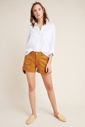Anthropologie Wanderer Utility Shorts By in Grey Size 25