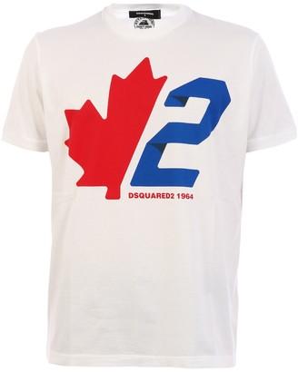 DSQUARED2 T-shirt Logo White