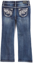 ZCO Blue Angel Wing-Embroidered Jeans - Girls