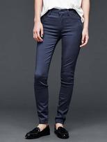 Gap 1969 Sateen High Rise True Skinny Jeans