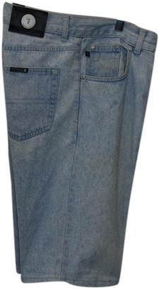 Trussardi Blue Denim - Jeans Shorts