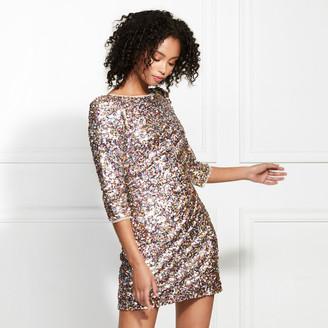 Rachel Zoe Bailey Spring Sequins Mini Dress