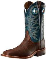 Justin Men's Bent Rail Rough Rider Cowboy Boot Square Toe - Br738
