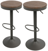 Lumisource Dakota Barstools (Set of 2)