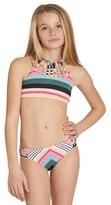 Billabong Girl's Sun Faded Two-Piece Swimsuit