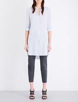 Brunello Cucinelli Longline silk shirt