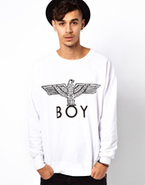 Boy London Sweat with Eagle Print