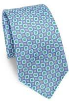 Kiton Floral Printed Silk Tie