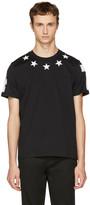 Givenchy Black Stars 74 T-shirt