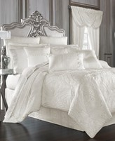 J Queen New York Bianco Queen Comforter Set
