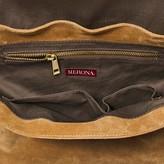 Merona Women's Leather Crossbody Handbag with Removable Strap Tan