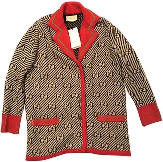 Gucci Beige Wool Knitwear for Women