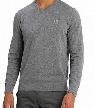 Lacoste Men's Long Sleeve V-Neck Sweater