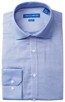Vince Camuto Cerulean Diamond Dobby Slim Fit Dress Shirt