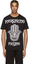 Moschino Black Hand Eye T-shirt
