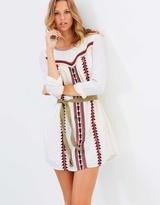 Maison Scotch Embroidered Boho Dress