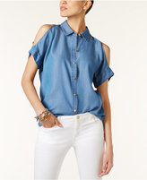 MICHAEL Michael Kors Off-The-Shoulder Shirt