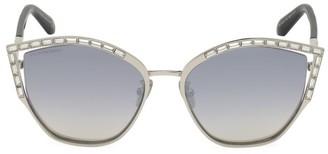 Swarovski 58MM Cat Eye Crystal Sunglasses