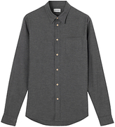Jigsaw Flannel Melange Slim Shirt