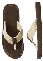 Gymboree Braided Flip Flops