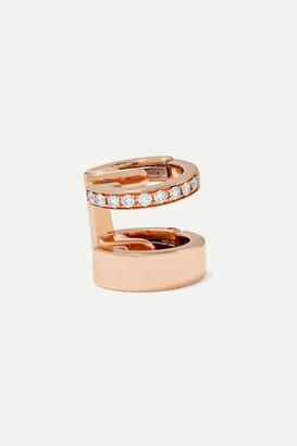 Repossi Berbere Module 18-karat Rose Gold Diamond Ear Cuff