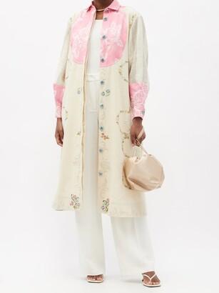 RIANNA + NINA Kendima Vintage Embroidered Cotton Coat - Multi