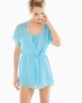 Soma Intimates Camilla Short Robe Aqua