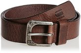 G Star Men's Zed Leather Belt