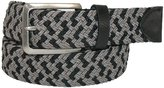 Tommy Hilfiger Mens Fabric Woven Two Tone Stretch Belt
