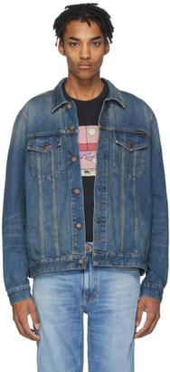 Nudie Jeans Blue Denim Jerry Jacket