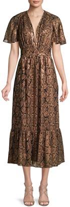 Michael Kors Snake-Print Dress