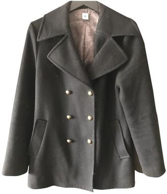 Petit Bateau Black Wool Jacket for Women