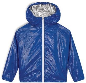 Burberry Kids Lightweight Hooded Logo Jacket (3-14 years)