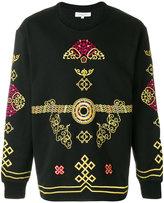 Les Benjamins oversized printed sweatshirt