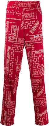 Palm Angels bandana print track pants