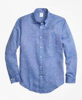 Brooks Brothers Regent Fit Irish Linen Sport Shirt