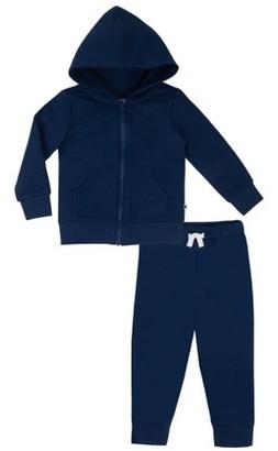 Little Star Organic True Brights Hoodie Sweatshirt & Jogger Pants, 2 Pc (Baby & Toddler Boy, Unisex)