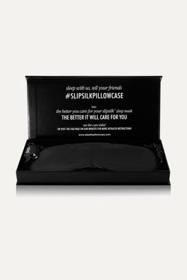 Slip Silk Eye Mask - Black