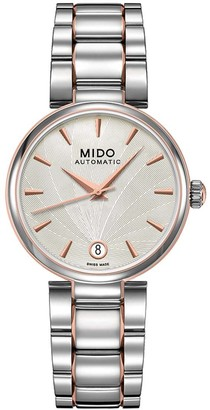 MIDO Womens Analogue Automatic Watch with Stainless Steel Strap M0222072203111